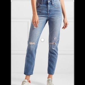 Madewell Perfect Vintage Jean - distressed